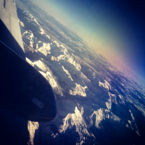 Beautiful views of snow-capped Rocky Mountains captured during work travels this week.
