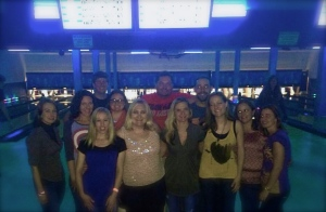 I have the best friends! Birthday bowling fun.