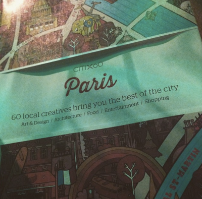 Thanks to a this gift from a good friend, I can officially start my Paris excursion planning.