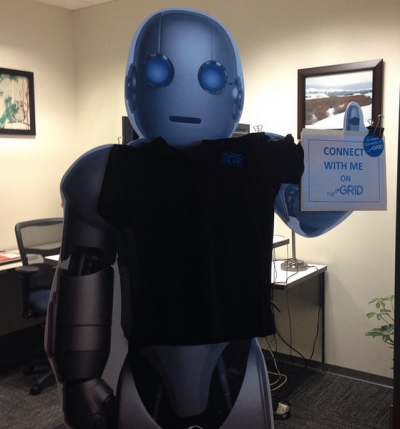 Surprisingly, the intranet launch was a seamless success. I think this guy may have had something to do with it. ;-)