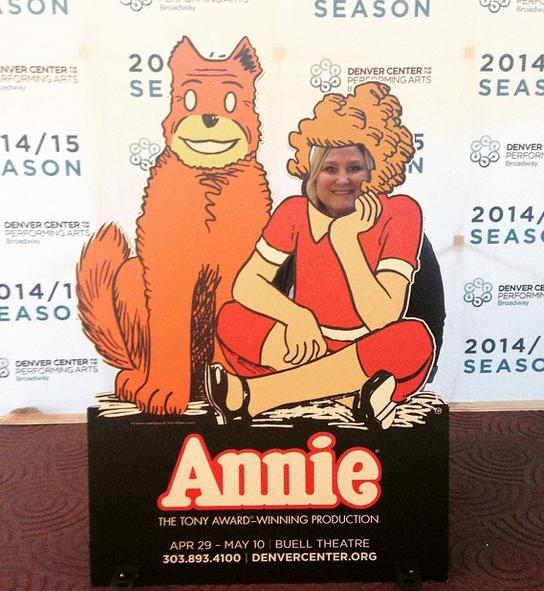 Annie! #HardKnockLife