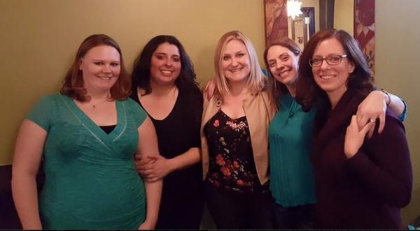 Birthday celebration with these beautiful ladies.